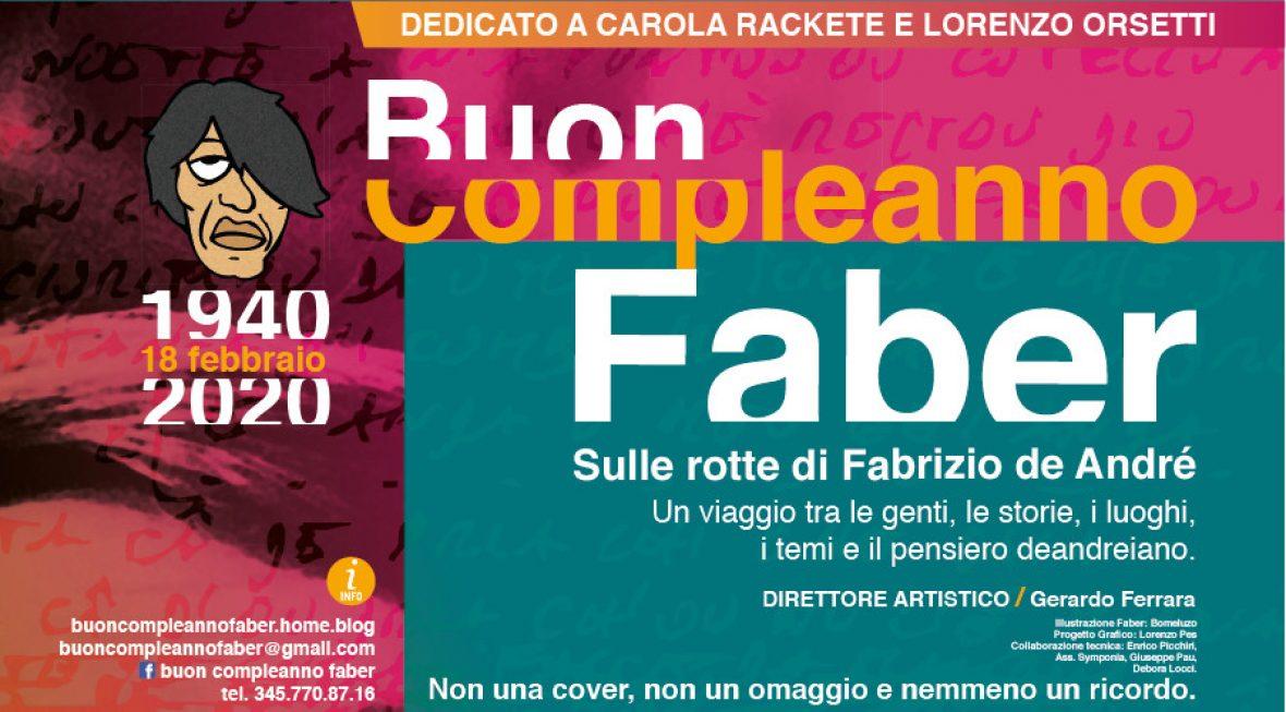 Buon Compleanno Faber 2020.