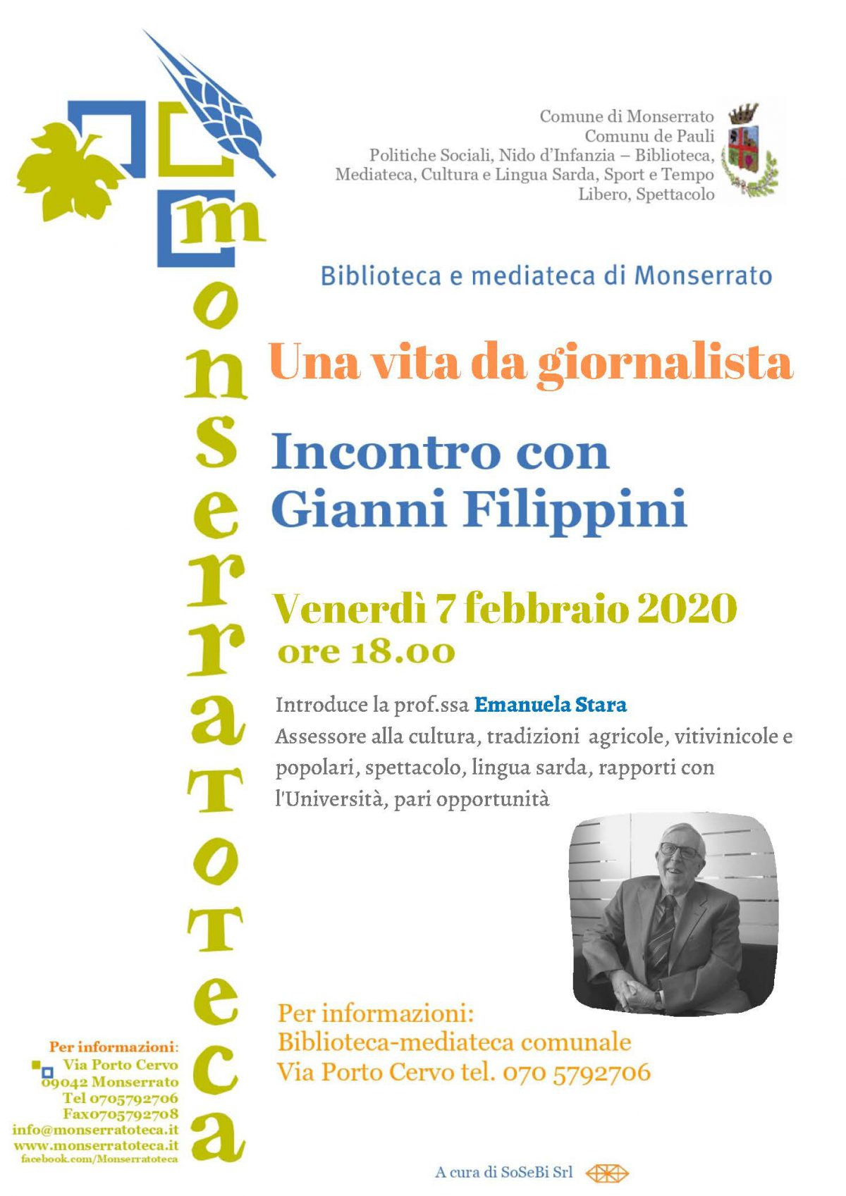 Incontro con l'autore – Gianni Filippini