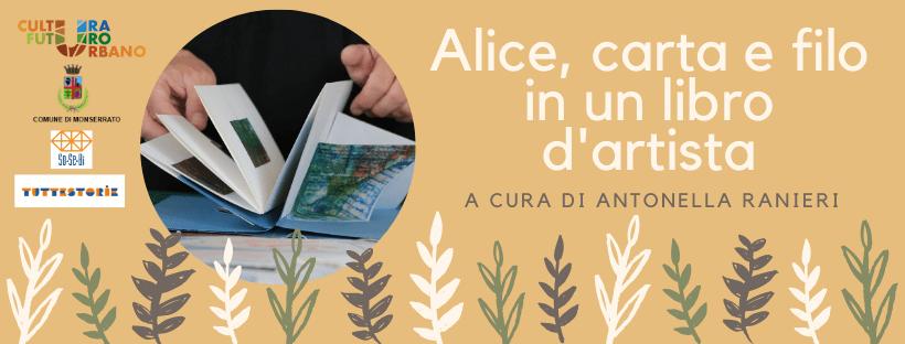 Alice, carta e filo in un libro d'artista